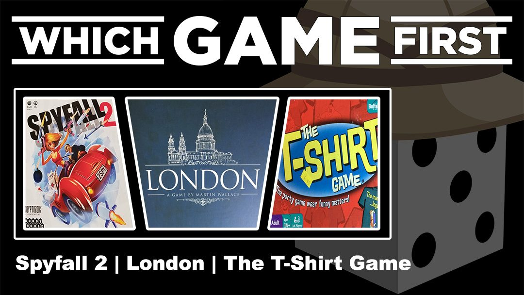 Spyfall 2 | London | The T-Shirt Game