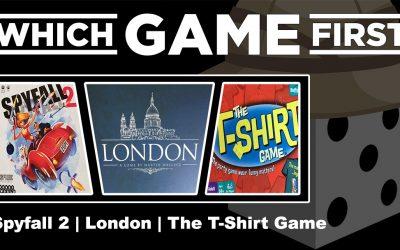 Spyfall 2 | London | The T-Shirt Game