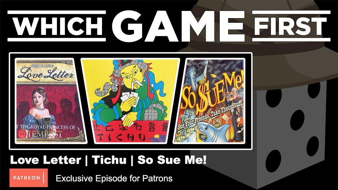 Love Letter | Tichu | So Sue Me!