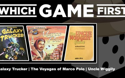 Galaxy Trucker | The Voyages of Marco Polo | Uncle Wiggily
