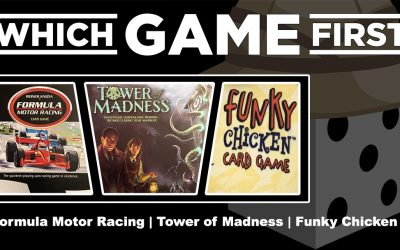Formula Motor Racing | Tower of Madness | Funky Chicken