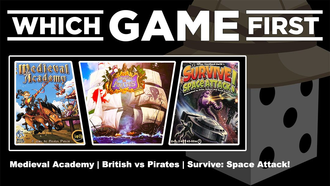Medieval Academy | British vs. Pirates |  Survive: Space Attack!