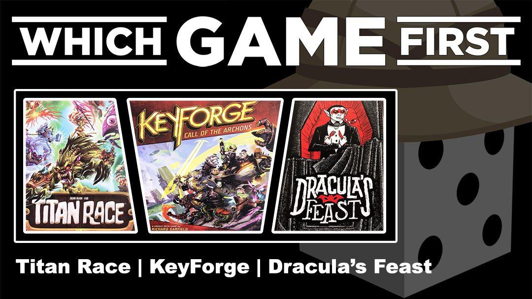 Titan Race | KeyForge | Dracula's Feast