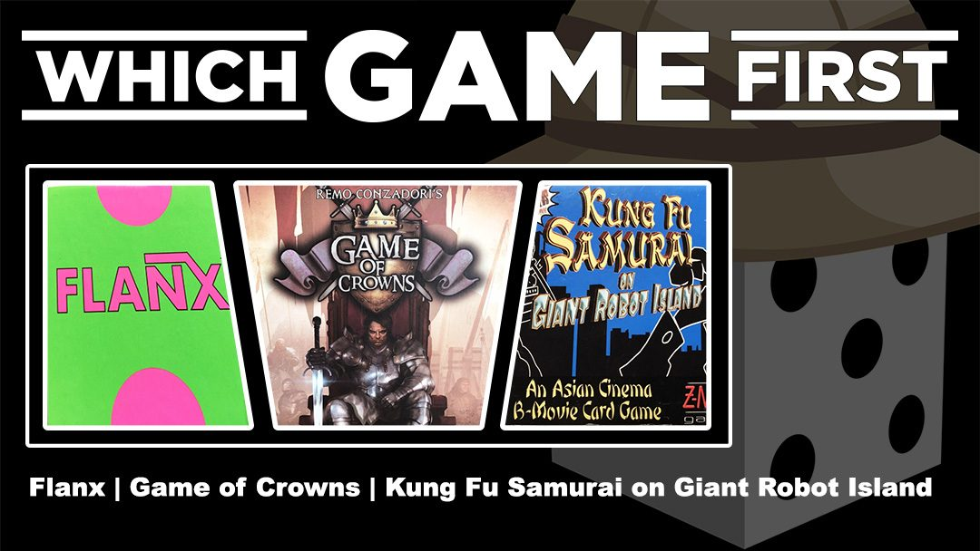 Flanx | Game of Crowns | Kung Fu Samurai on Giant Robot Island