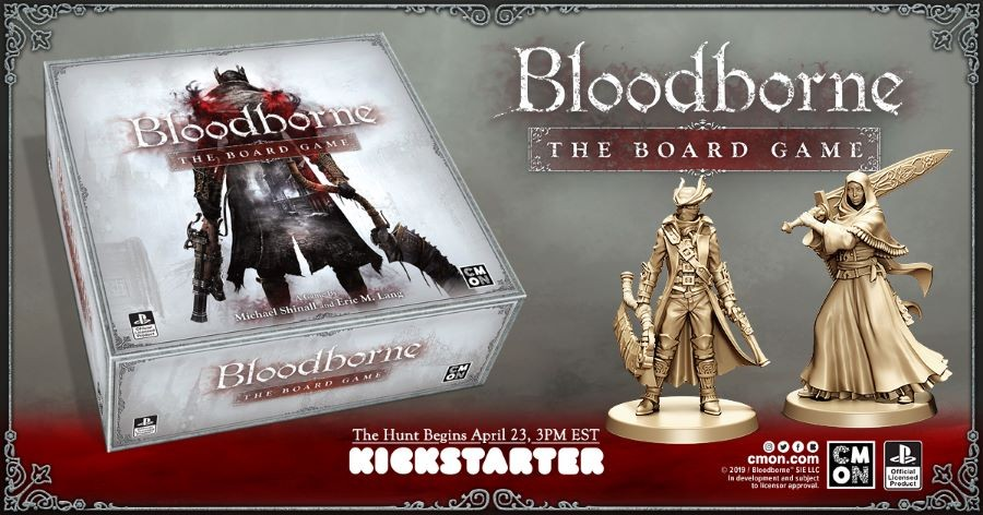BLOODBORNE COMING TO YOUR TABLETOP