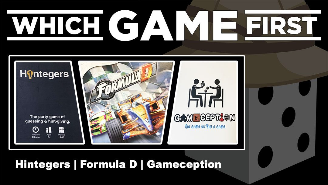 Hintegers | Formula D | Gameception