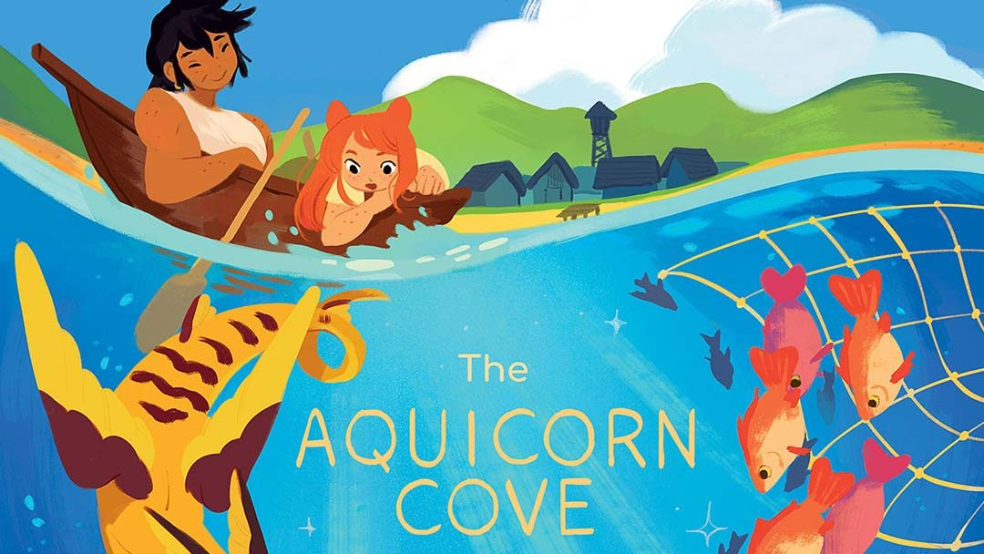 AQUICORN COVE: The Wildly Popular Graphic Novel Becomes a Board Game