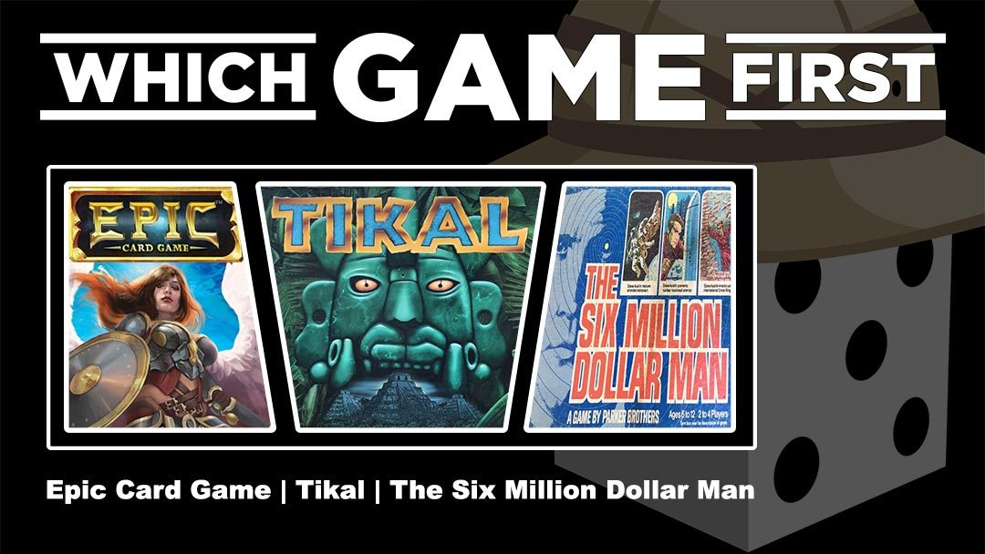 Epic Card Game | Tikal | The Six Million Dollar Man