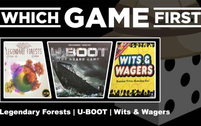 Legendary Forests | U-BOOT: The Board Game | Wits & Wagers