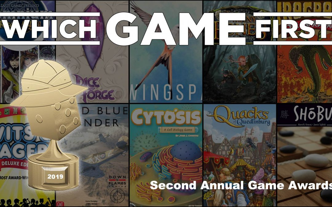 Second Annual Which Game First Awards