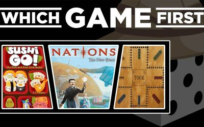 Sushi Go! | Nations: The Dice Game | Tock