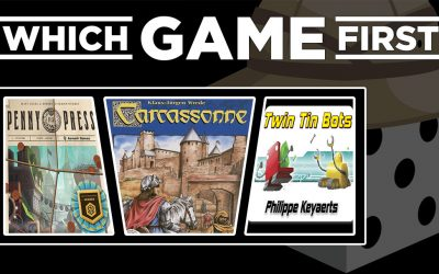 Penny Press | Carcassonne | Twin Tin Bots