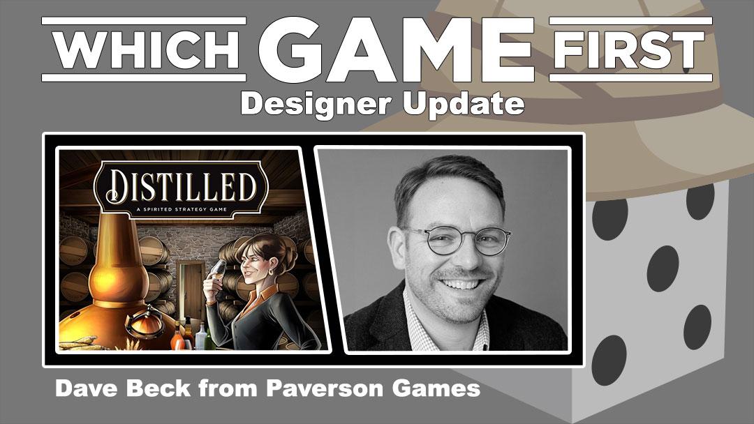 Designer Update: Dave Beck on Distilled